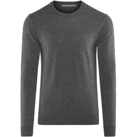 Icebreaker Shearer Crew Sweater Men Charcoal Heather